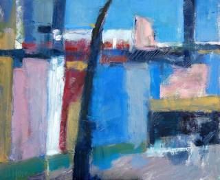 Paisaje. Estudio al óleo. Clases de pintura en Barcelona