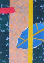 Pintura creativa al acrílico y collage en 4 Pintors Barcelona