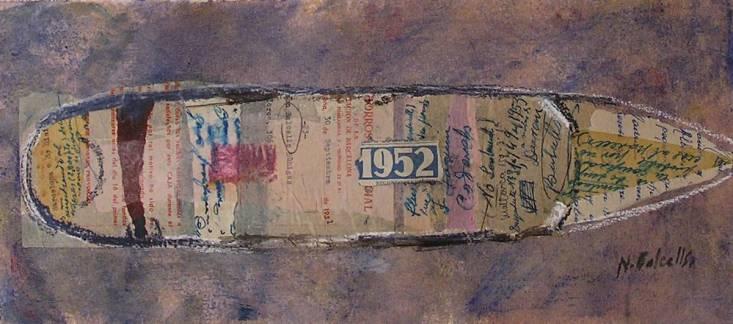 1952. Pintura Nuria Balcells. Clases de arte en Barcelona 4 PINTORS