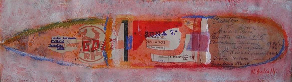 GRAT. Pintura Nuria Balcells. Escuela de arte en Barcelona