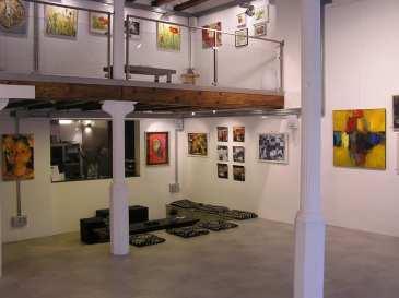 Exposición Taller 4 Pintors, clases de Arte en Barcelona