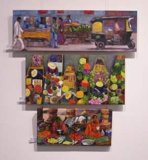 Cuadros alumno Taller 4 Pintors. Clases de Pintura y Dibujo en Barcelona