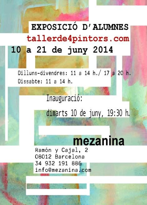 Exposició d'alumnes TALLER DE 4 PINTORS