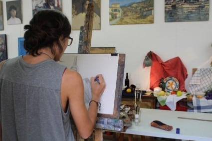 painting and drawing classes Barcelona