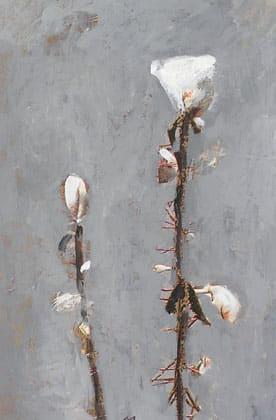 Pintura figurativa de foto al taller d'art