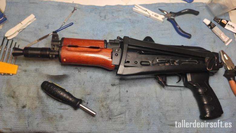 IMG_20210103_211423 Reparación de la palanca de agarre de la culata abatible de AK74U de DBOYS