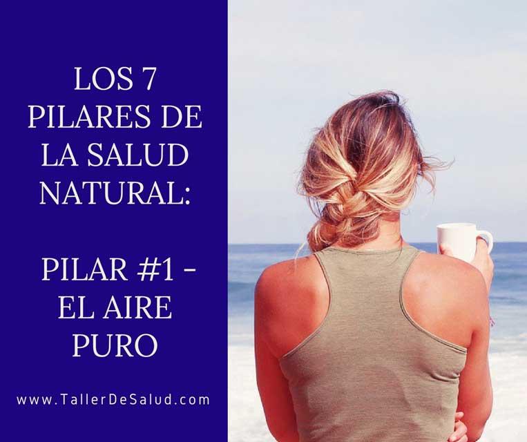 Los 7 pilares de la salud natural: Pilar #1 – El Aire Puro