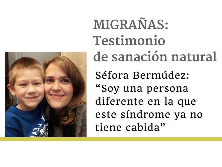 """Entrevista a Séfora Bermúdez, ex paciente de migrañas: """"Si sigues comiendo lo mismo, haciendo lo mismo y pensando lo mismo seguirás teniendo las mismas migrañas"""""""