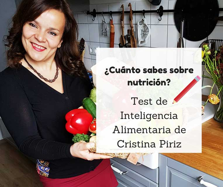 Test de Inteligencia Alimentaria de Cristina Piriz