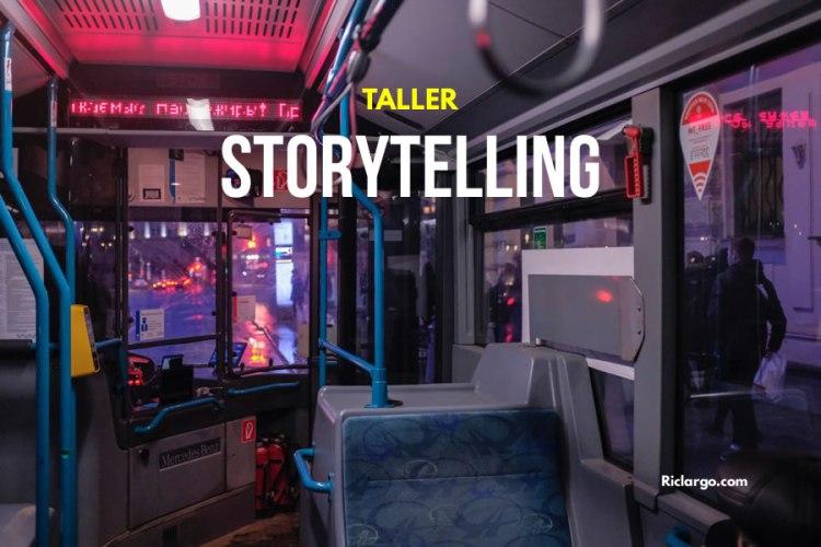 Taller de Storytelling en RRSS Para Emprendedores, Freelancers e Independientes