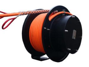 Enrollador abierto a resortes de cable eléctrico serie FA