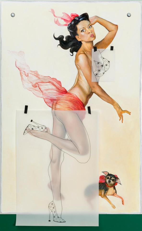 """Pinup Wanna Be,"" 2005"