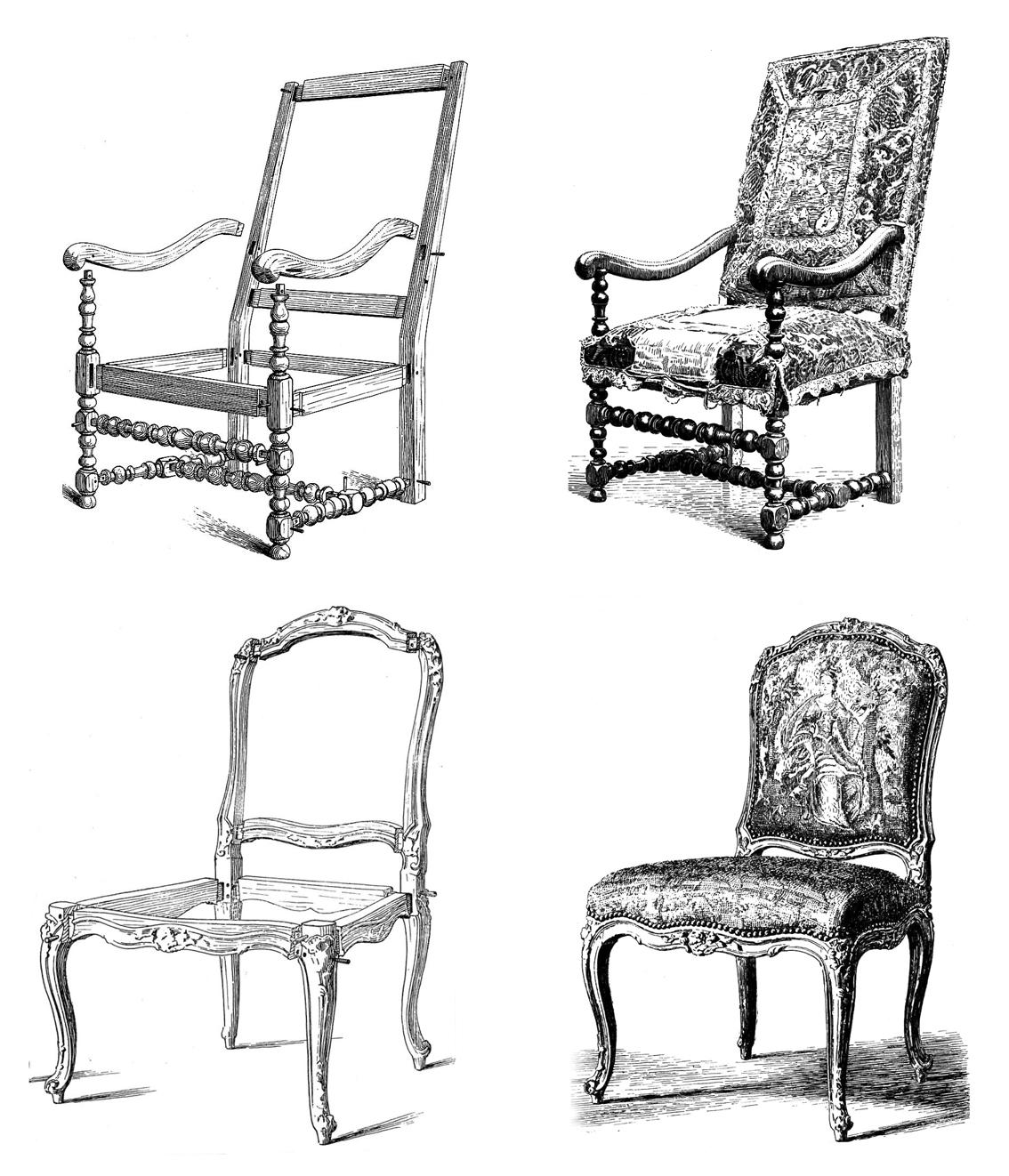 el mueble francs del siglo XVIII  Taller y medio