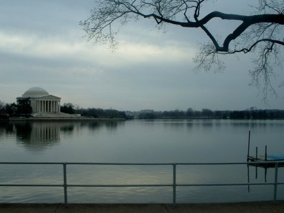Tidal Basin and the Jefferson Memorial