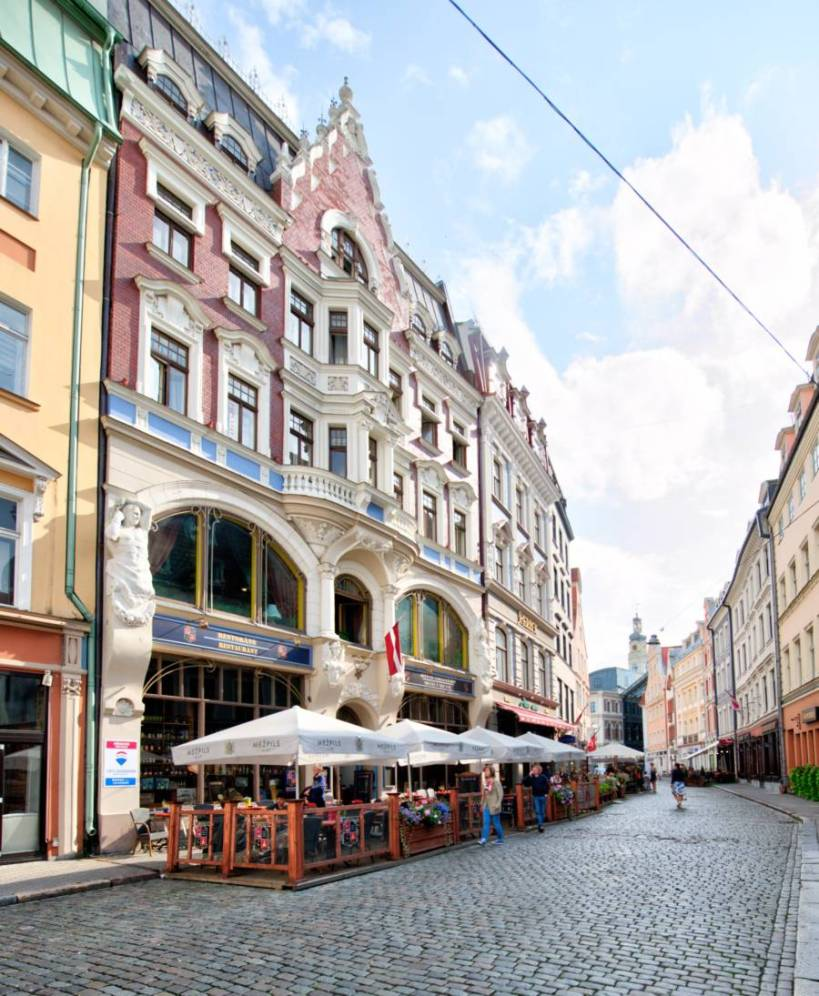 Fly from London to Riga for just £25 return!