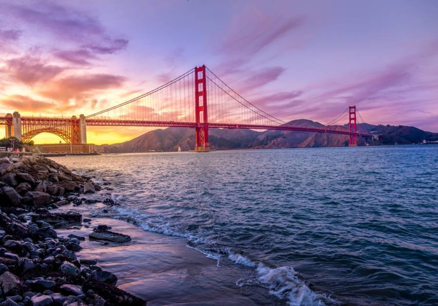 [€301 / $338 / 2.3 Cents Per Mile] Cheap flights to San Francisco from Budapest, Hungary for €301 return!