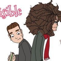A tall and curly girl's life - Invisible