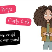 Tall people, curly hair: if we could speak our mind