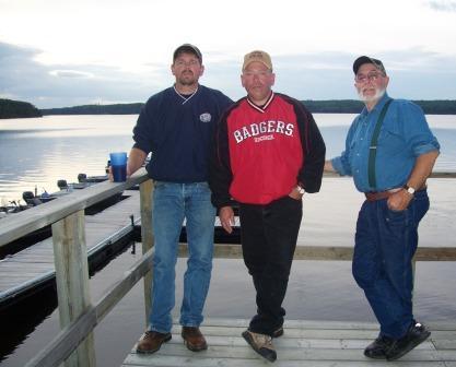 Jim, Bob & Mike had a very nice time.