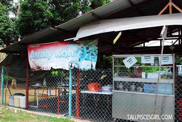Aunty Koh Cendol stall
