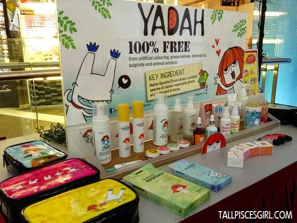 Yadah product sampling