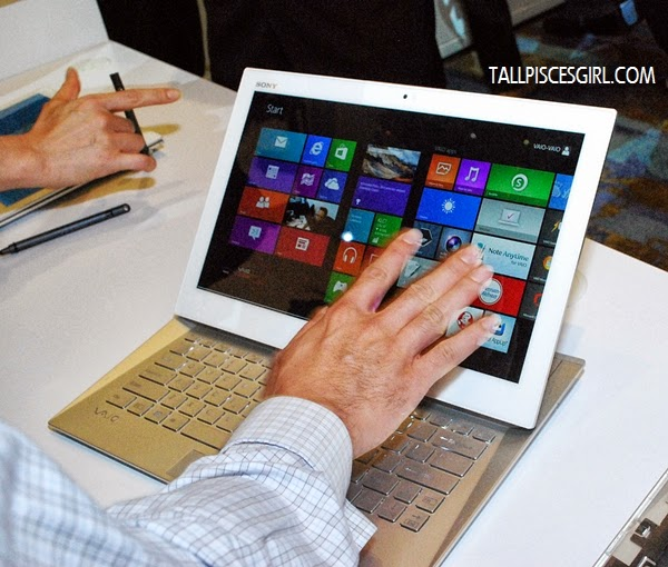 Sony VAIO® Duo 13 in PC Mode