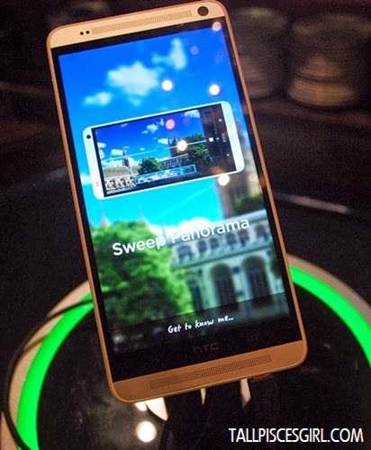 The front view of HTC One Max