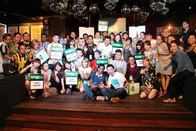 All the survivors of Maxis 4G Bloggers Blaze
