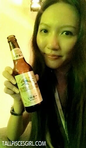 Enjoying my Kirin beer! =)