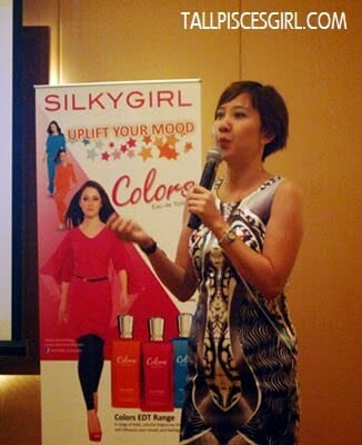 Ms. Evelyn Leong, Certified Color Therapist from The School of Natural Health Sciences, UK