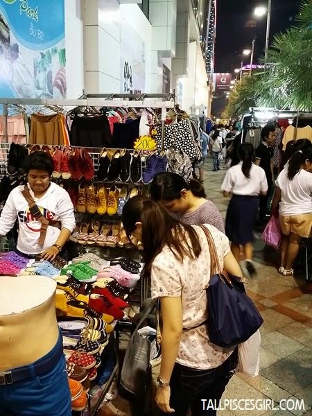 Shoes and clothes @ Pratunam Night Market