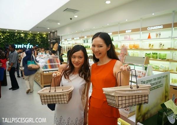 Two shopaholics - Caroline Ng and I