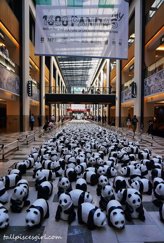 1600 Pandas @ Publika Shopping Mall