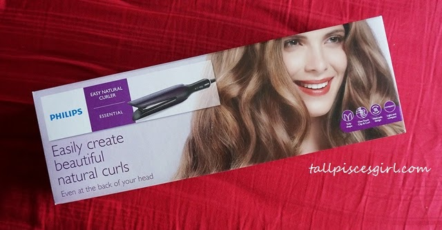 Philips Easy Natural Curler BHH777/03 Packaging