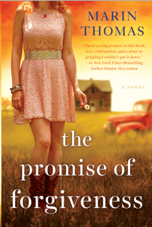 Happy Launch Day to THE PROMISE OF FORGIVENESS & Marin Thomas!