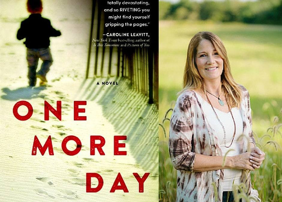Happy Book Birthday to Kelly Simmons + ONE MORE DAY