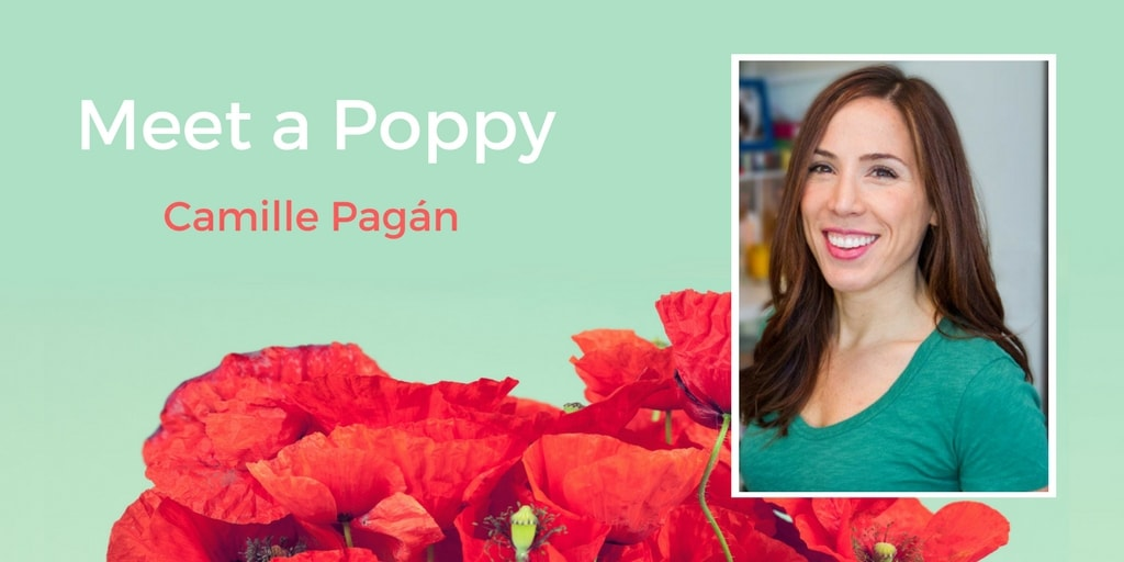 Meet a Poppy: Camille Pagán and How Her Book Came to Be