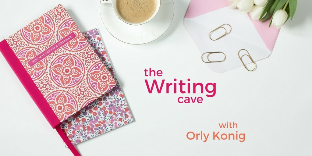 A Peek into the Writing Cave of Orly Konig
