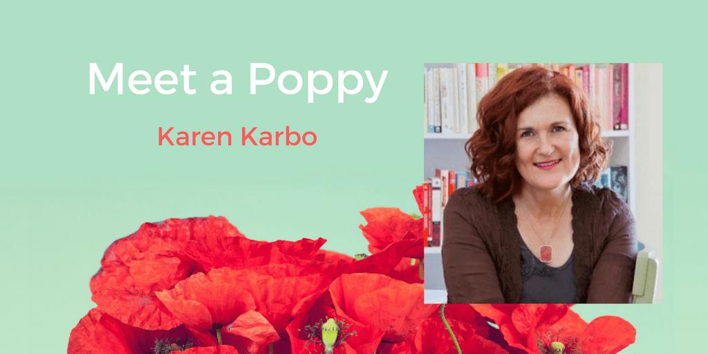 Meet a Poppy: Karen Karbo