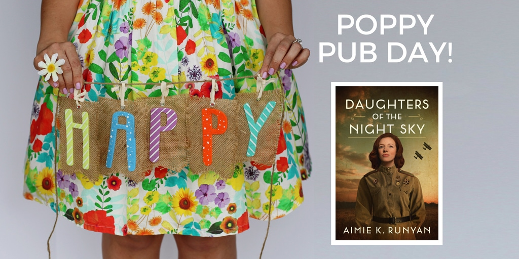 Happy Pub Day to Aimie Runyan and Daughters of the Night Sky