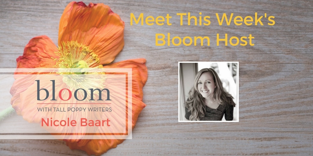 Are You in Bloom with Nicole Baart?