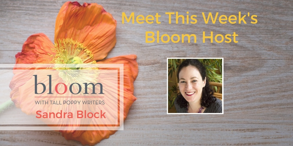Are You in Bloom with Sandra Block?