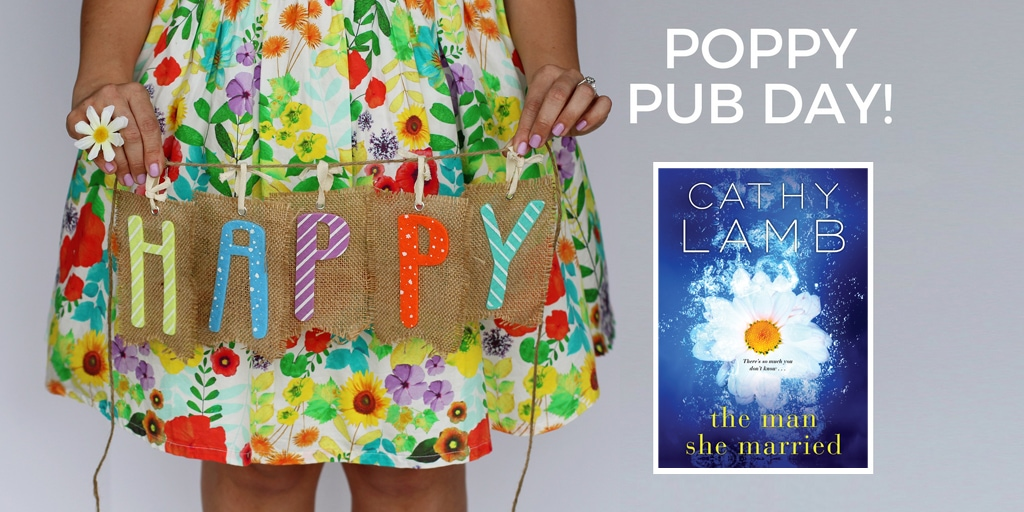 Happy Pub Day to THE MAN SHE MARRIED and Cathy Lamb