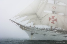 NRP Sagres lll, 50th Anniversary Tall Ships Race,Torbay