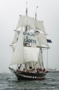 TSR Royalist, 50th Anniversary Tall Ships Race, Torbay 2006