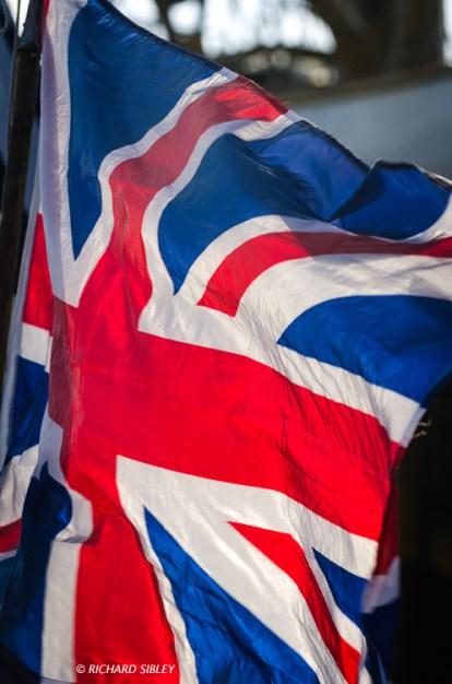 Union Jack,Cadiz, Tall Ships Regatta,