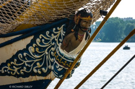 Barquentine 'Dewaruci' Indonesia, Antwerp Tall Ships Race 2010