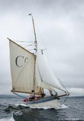 Bristol channel Pilot Cutter, Marguerite,lerwick 2011