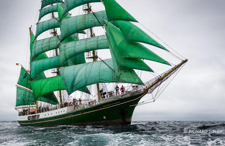 Tall Ships Race,Lerwick,Alexander von Humboldt