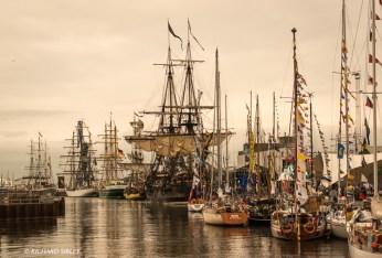 An evening in the port of Aarhus 2013